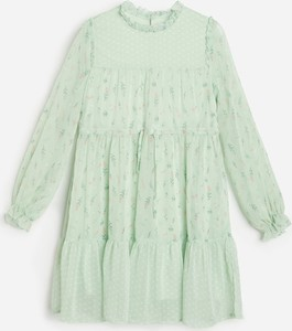 Zielona sukienka dziewczęca Reserved