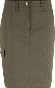 Zielona spódnica bonprix bpc bonprix collection midi