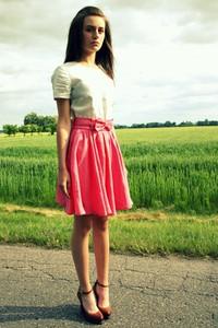 Różowa spódnica Luiza Kimak