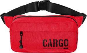 Czerwony plecak męski CARGO by OWEE