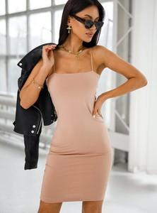 Sukienka SELFIEROOM z długim rękawem dopasowana