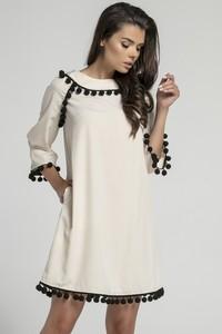 5b2f1d05a6 modne sukienki trapezowe - stylowo i modnie z Allani