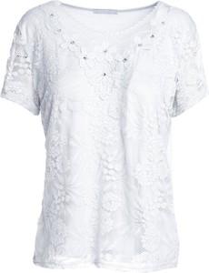 Bluzka Multu z krótkim rękawem