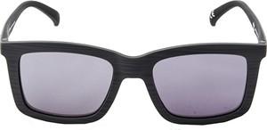 Niebieskie okulary damskie Adidas w sportowym stylu