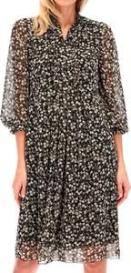 Sukienka POTIS & VERSO mini z długim rękawem w stylu casual