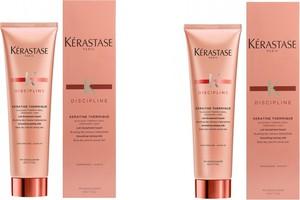 Kerastase Zestaw Fluidealiste Keratine Thermique - keratynowe, termiczne mleczko do włosów 150ml x2 - Wysyłka w 24H!