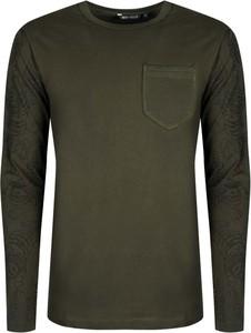 T-shirt ubierzsie.com z długim rękawem w stylu casual