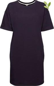 Sukienka Esprit mini w stylu casual z okrągłym dekoltem