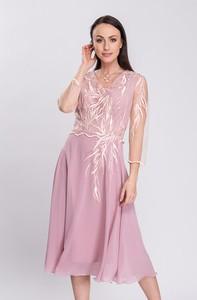 Sukienka Semper asymetryczna
