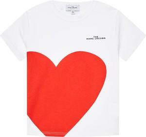 Koszulka dziecięca Little Marc Jacobs z krótkim rękawem