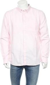 Różowa koszula Tiffosi z długim rękawem