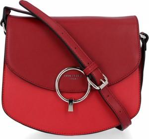 Czerwona torebka David Jones