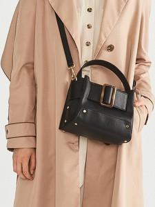 Czarna torebka Reserved w stylu casual
