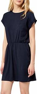 Sukienka amazon.de mini z krótkim rękawem z okrągłym dekoltem