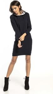 Sukienka Tessita z bawełny mini z okrągłym dekoltem