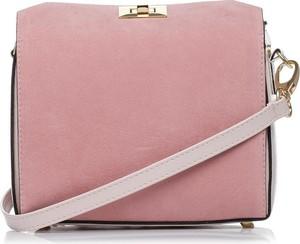 Różowa torebka Stylove średnia na ramię