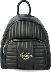 Plecak Love Moschino ze skóry