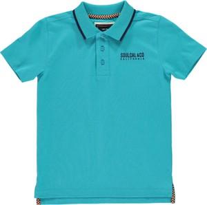 Błękitna koszulka dziecięca SoulCal