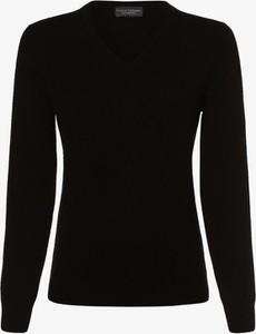 Czarny sweter Franco Callegari w stylu casual