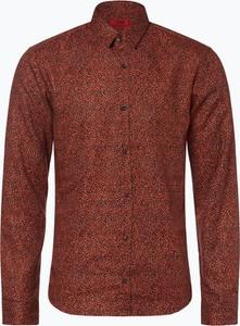 Pomarańczowa koszula Hugo Boss w stylu casual