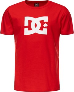 Czerwony t-shirt DC Shoes