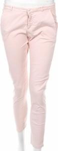 Różowe spodnie Scee By Twin-set w stylu casual