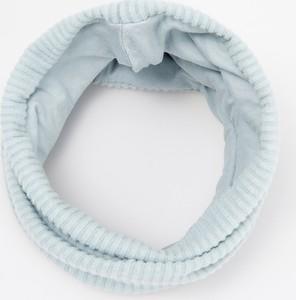 Turkusowy szalik dziecięcy Reserved z plaru