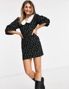 Czarna sukienka Asos w stylu casual mini
