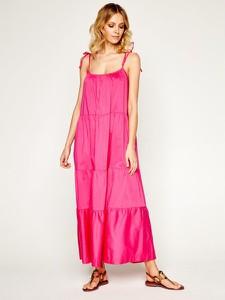 Sukienka Twinset maxi na ramiączkach