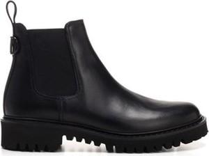 Czarne buty zimowe Valentino