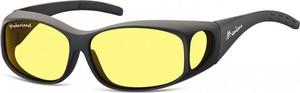 Stylion Żółte Okulary z Polaryzacją HD Fit Over dla Kierowców, na Okulary Korekcyjne MFO1F