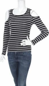 Bluzka Sass z okrągłym dekoltem z długim rękawem w stylu casual