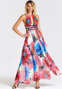 Sukienka Guess z dekoltem halter
