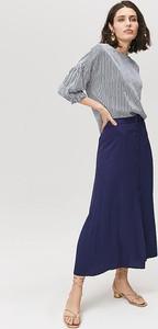 Granatowa spódnica FEMESTAGE Eva Minge w stylu casual