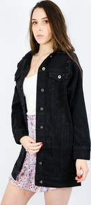 Czarna kurtka Olika z jeansu