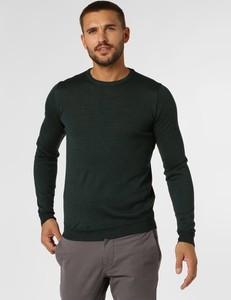 Zielony sweter Finshley & Harding z dzianiny