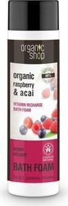 ORGANIC SHOP Płyn do kąpieli, bomba witaminowa - Jagodowa Rozkosz - malina i jagody acai 500 ml
