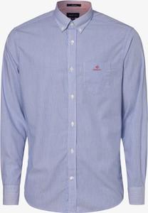 Niebieska koszula Gant z długim rękawem