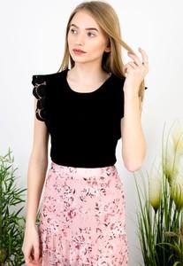 Bluzka Olika z krótkim rękawem w stylu casual
