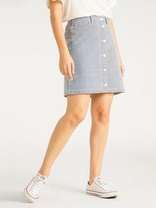 Spódnica Lee mini z jeansu