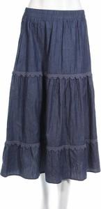 Niebieska spódnica Louche w stylu casual
