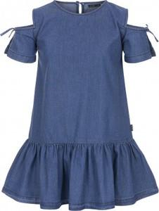 be9e9852 Granatowe sukienki dziewczęce, kolekcja lato 2019