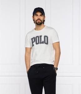T-shirt POLO RALPH LAUREN z bawełny w młodzieżowym stylu z krótkim rękawem