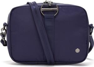 Niebieska torebka Pacsafe