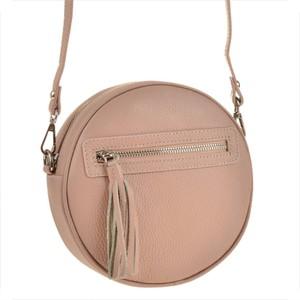 Różowa torebka vezze w młodzieżowym stylu