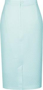 Spódnica Fokus midi z szyfonu w stylu klasycznym