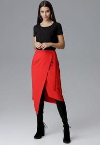 Czerwona spódnica Figl