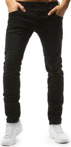 Czarne jeansy Dstreet z jeansu