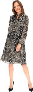 Sukienka Lavard midi w stylu casual