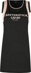 Sukienka Liu-Jo bez rękawów trapezowa mini